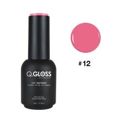 Q.GLOSS Gel Polish #12