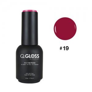 Q.Gloss Gel Polish #19