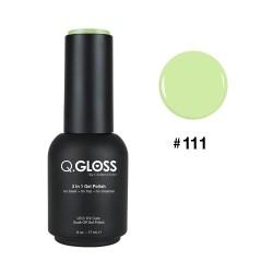 Q.GLOSS Gel Polish #111