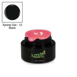 Xpress Detail Gel - BLACK #12