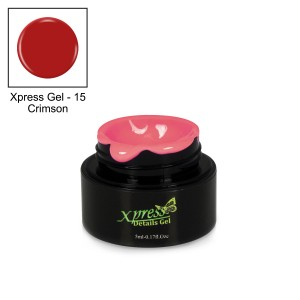 Xpress Detail Gel - CRIMSON #15