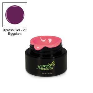 Xpress Detail Gel - EGGPLANT #20
