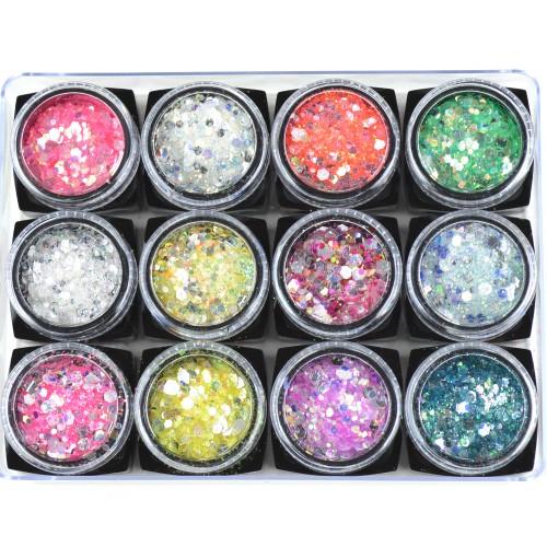 Confetti Glitters - 12 pack