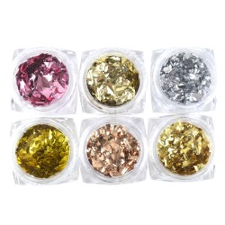 Metallic Flakes - 6 pack
