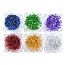 Tinsel Foils #1 - 6 pack