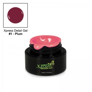 Xpress Detail Gel - PLUM #1