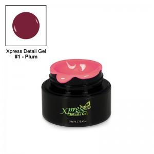 Xpress Detail Gel - PLUM #1