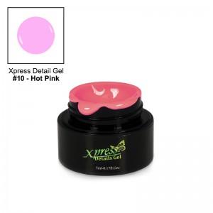 Xpress Detail Gel - HOT PINK #10