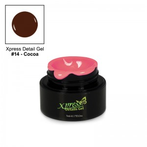 Xpress Detail Gel - COCOA #14