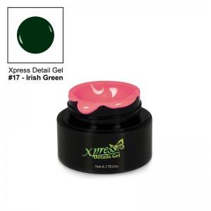 Xpress Detail Gel - IRISH GREEN #17