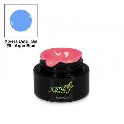 Xpress Detail Gel - AQUA BLUE #8