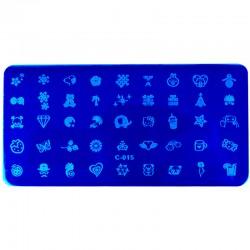 Stamp Plate Set #15