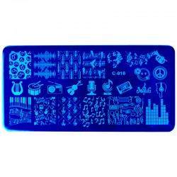 Stamp Plate Set #16