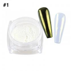 Mirror Chrome Powder #1 - (1/8oz)
