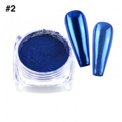 Mirror Chrome Powder #2 - (1/8oz)