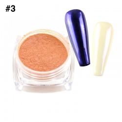 Mirror Chrome Powder #3 - (1/8oz)