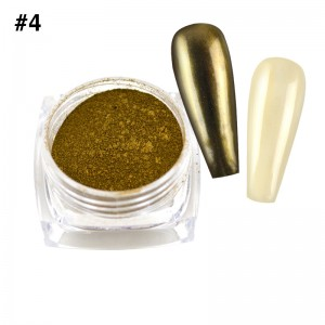 Mirror Chrome Powder #4 - (1/8oz)