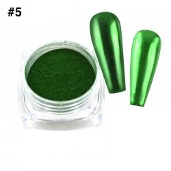 Mirror Chrome Powder #5 - (1/8oz)