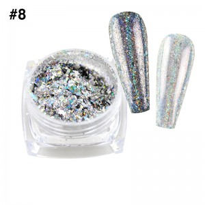 Mirror Chrome Powder #8 - (1/8oz)