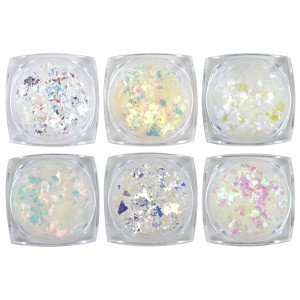 Mylar Flakes - 6 pack