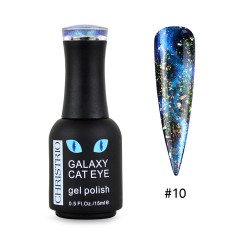 Galaxy Cat Eye Gel Polish #10