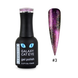 Galaxy Cat Eye Gel Polish #3