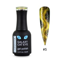 Galaxy Cat Eye Gel Polish #5