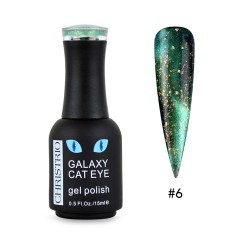Galaxy Cat Eye Gel Polish #6