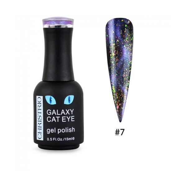 Galaxy Cat Eye Gel Polish #7
