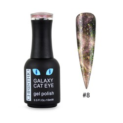 Galaxy Cat Eye Gel Polish #8
