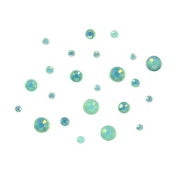 Opal Crystals - Green (1440pcs)