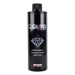 Q.Gloss No Cleanse Top Gel - Refill 500ml