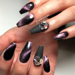 Chameleon Cat Eye Gel Polish #C5D4