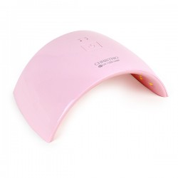 36W Opal LED/UV Lamp - FULL PINK