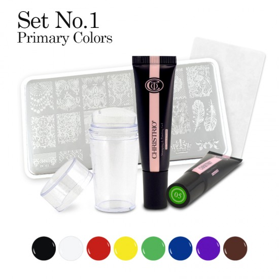 Stamping & Painting Gel Set - No. 1