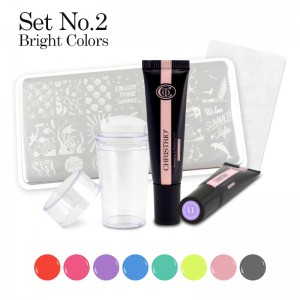 Stamping & Painting Gel Set - No. 2
