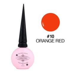 Aquarelle Gel - #10 Orange Red