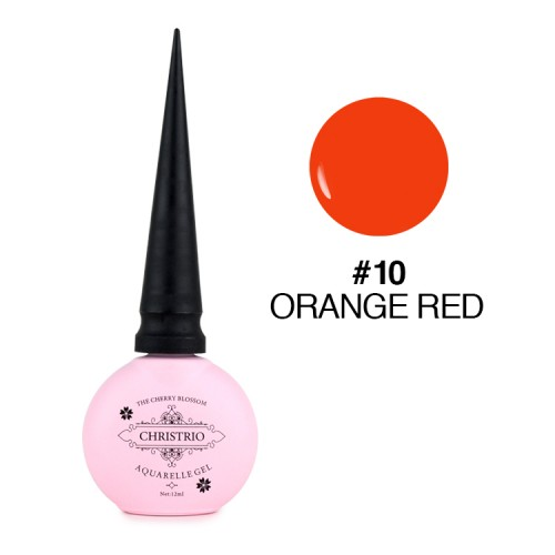 Aquarelle Gel - #10 Orange Red