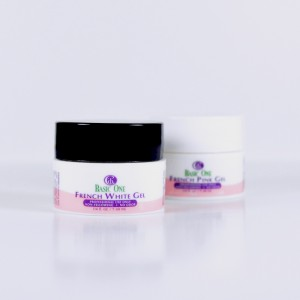 French White and Pink Gel Pack (1/4 oz.)