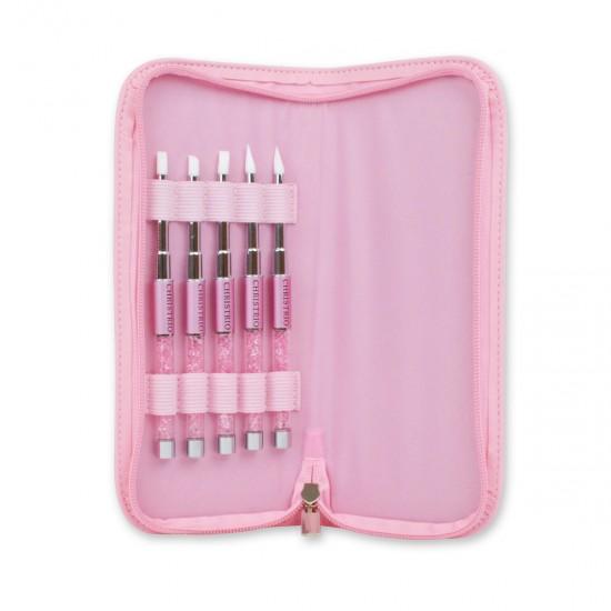 Pink Silicone Set