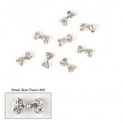 Bow Charms #02 - (Small 10 pcs)