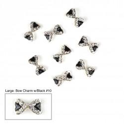 Bow Charms #10 - (Large 100 pcs)