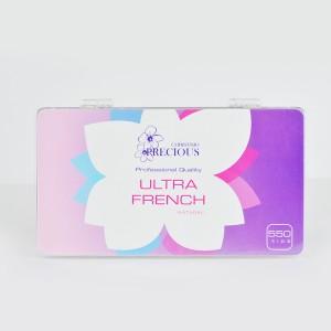 Ultra French Nail Tips - Natural 550 pcs