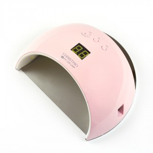 48W Pearl LED/UV Lamp - PINK